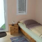 Einzelzimmer zum Garten (Zimmer Nr. 3)
